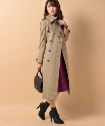 beautiful people/ultimate pima twillskinny trench coat/500350087