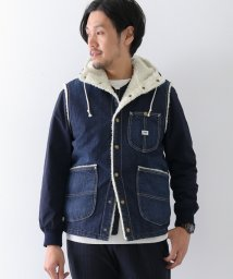 URBAN RESEARCH/【Lee×DOORSnatural】BoaDenimVest/500418484