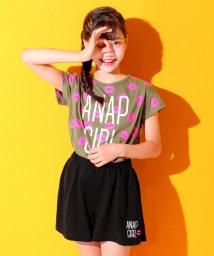 ANAP GiRL/LIP Tシャツ+キュロット SET/500426732