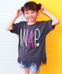 ANAP KIDS/カラフルロゴフリンジミニワンピース/500426735