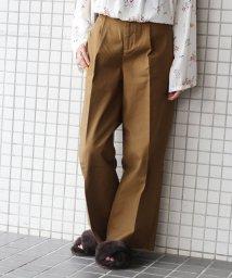 JOURNAL STANDARD/《予約》ストレッチサージ ワイドスラックスパンツ◆/500433261
