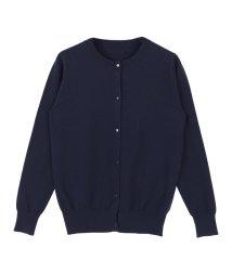 titivate/カシミアタッチシンプルクルーネックカーディガン/500433604