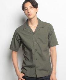 JNSJNM/【BLUE STANDARD】オープンカラーシャツ/500426269
