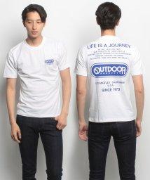 JNSJNM/【OUTDOOR PRODUCTS】バックロゴプリントTシャツ/500426270