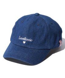 Lovetoxic/ロゴ刺しゅう入りキャップ/500430647
