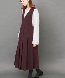 URBAN RESEARCH/【KBF】BIGプリーツジャンパースカート/500426077