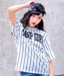 ANAP GiRL/ストライプBIGTシャツ/500434050