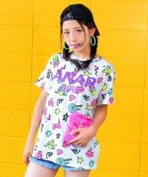 ANAP GiRL/POPロゴ柄BIGTシャツ/500439816