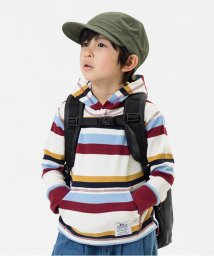 F.O.KIDS / F.O.KIDS MART/フード付きサーマルボーダーTシャツ/500441504