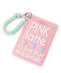PINK-latte/ラメラバーパスケース/500443385