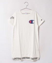 Lovetoxic/裾ロゴチャンピオンワンピース/500439710