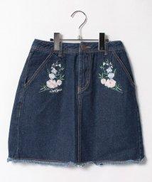 Lovetoxic/花刺繍台形スカート/500439713
