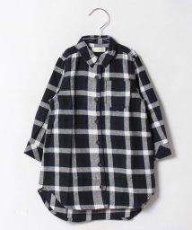 b-ROOM/チェックシャツワンピース/500440284