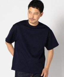 "SHIPS MEN/SC: ""MADE IN JAPAN"" ダブルゲージ ニット Tシャツ/500444230"