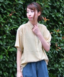 framesRayCassin/ギンガム2WAYシャツ/500444311