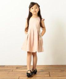 anyFAM(KIDS)/【KIDS】レースボンディング+ポリエステルサテン ワンピース/500448015