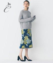 JIYU-KU /【Class Lounge】BLOSSOM JAQUARD スカート/500448019