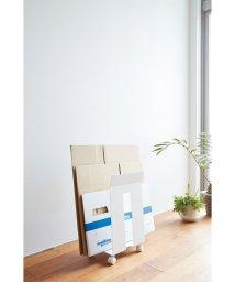 YAMAZAKI/ダンボール&紙袋ストッカー フレーム ホワイト/500418896