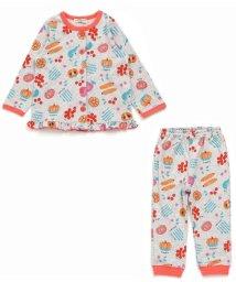 ampersand / F.O.KIDS MART/Girl's野菜フルーツ柄長袖前開きパジャマ/500445025
