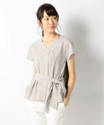 JIYU-KU /【洗える・2WAY】シャーティングレイヤード カットソー/500452009