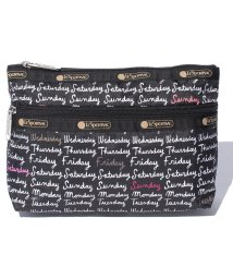 LeSportsac/COSMETIC CLUTCH ウィークダズ/LS0018890