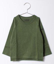b-ROOM/ラグラン長袖Tシャツ/500447684
