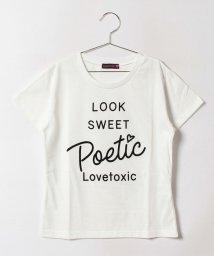 Lovetoxic/ロゴプリントTシャツ/500447695