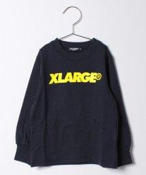 XLARGE KIDS/スタンダードロゴロングスリーブTシャツ/500447708