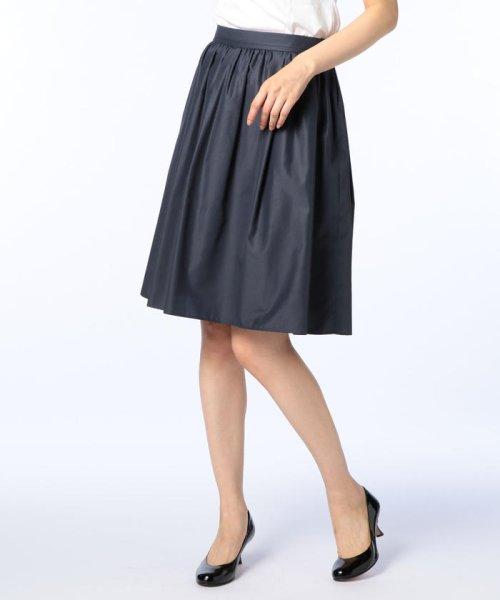 NOLLEY'S(ノーリーズ)/タフタタックギャザースカート/7-0035-5-06-013
