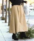 ViS/【WEB限定】チノボリュームスカート/500458142
