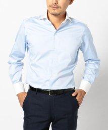 SHIPS MEN/SD: ALBINI社製生地 クレリック ホリゾンタルカラーシャツ/500458546