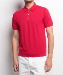 SHIPS MEN/【SHIPS】POLO KNIT 16GG SWISS CTN/500436811