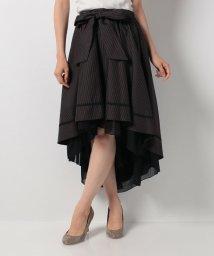 axes femme/ベルト付フィッシュテールスカート/500450029