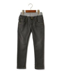 green label relaxing (Kids)/【キッズ】LEE(リー) ストレッチ テイパード ブラック/500446976
