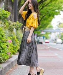 Sylph/シャイニープリーツスカート【by yumi】/500461848