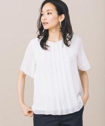 JIYU-KU /【洗える】ロイヤルシフォン ブラウス/500468992