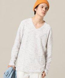 417 EDIFICE/ピンタック VネックTシャツ/500469153