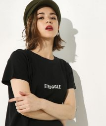 AZUL by moussy/STRUGGLEロゴTEE/500447962