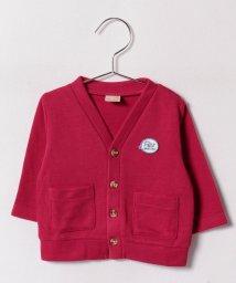 petit main/刺繍付きカーディガン(70)/500453060
