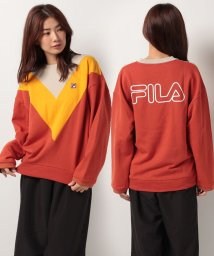 E hyphen world gallery/FILA V切替えプルオーバー/500453678