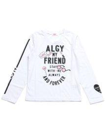 ALGY/ロゴプリントロンT/500462116