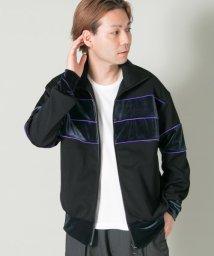 URBAN RESEARCH/COSEI Velour Track Jacket/500473045