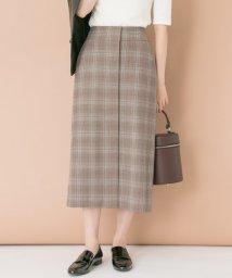 URBAN RESEARCH/【予約】グレンチェックタイトスカート/500473073