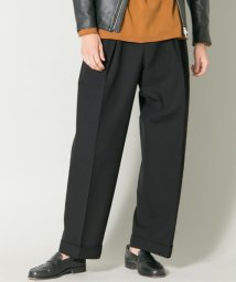 URBAN RESEARCH/ZUBON 2Tuck Wide Trouser/500473092