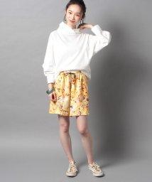 LAUTREAMONT/シャンタン花柄ショートパンツ/500474295