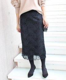 IENA/ブライトレースタイトスカート/500474680