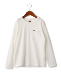 green label relaxing (Kids)/WEB限定【ジュニア】LEE(リー) クルーネック ポケット Tシャツ/500457540