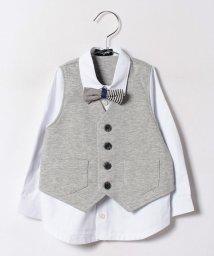 kladskap/ocベストフェイクレイヤードシャツ/500459092