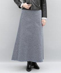 ADAM ET ROPE'/【セットアップ対応商品】刺子マキシスカート/500468285