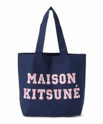 SLOBE IENA/MAISON KITSUNE ピクセル トートバッグ/500477359